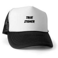 TRUE STONER Trucker Hat> TRUE STONER> 420 Gear Stop