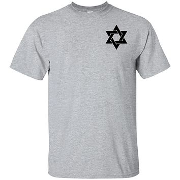 Cool Star of David Just Jew It on Backside Ultra Cotton T-Shirt