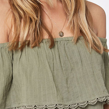 Billabong Spring Fling Off-The-Shoulder Top at PacSun.com