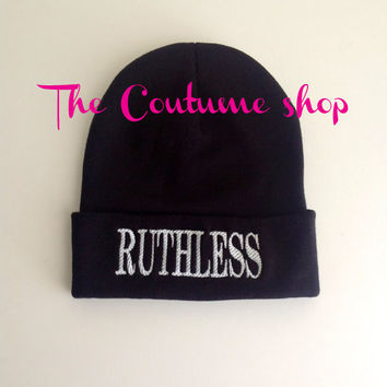 Ruthless Beanie with Custom Embroidery Customize Your Own