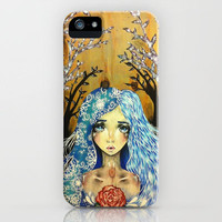 Winter Angel iPhone Case by Krista Rae | Society6