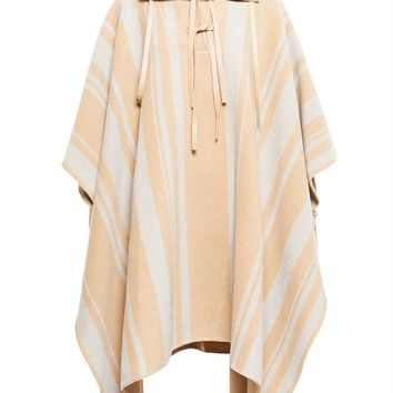 3.1 PHILLIP LIM | Striped Poncho | brownsfashion.com | The Finest Edit of Luxury Fashion | Clothes, Shoes, Bags and Accessories for Men & Women