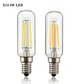 Vintage Edison Bulb LED Light E14 T25 4W Energy Saving 400Lumen Retro Lamp Bulb Chandelier Lighting Pure Warm White AC220V