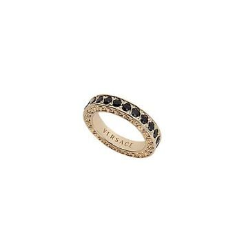 Versace - Crystal Single Band Ring
