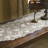 Bristol Gardens 14 x 36 Lace Table Runner