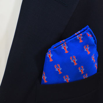 Lobster Pocket Square