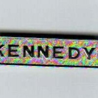 campaign pin pinback button political KENNEDY