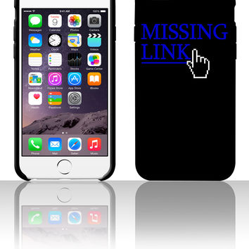 missing link 5 5s 6 6plus phone cases