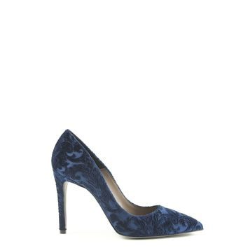 Made In Italia Blue Leather Pumps