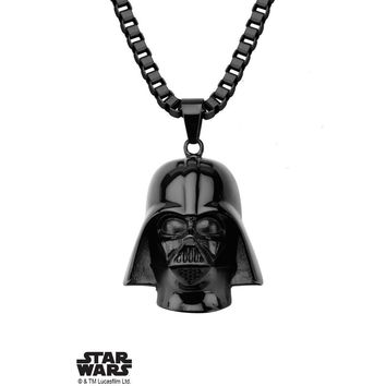 Star Wars Darth Vader Necklace - Black