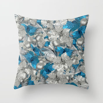Summer Sky Delta Throw Pillow by deluxephotos