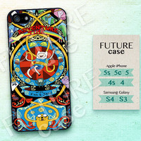 Adventure Time iPhone 5s case Finn and Jake iphone 5c case Land of Ooo iPhone 5 case iphone case iphone 4 case Hard or Soft Case -AT02