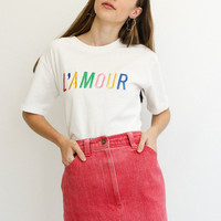 L'amour — Embroidered