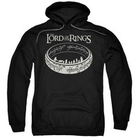 Lord Of The Rings - The Journey Adult Pull Over Hoodie Officially Licensed Apparel