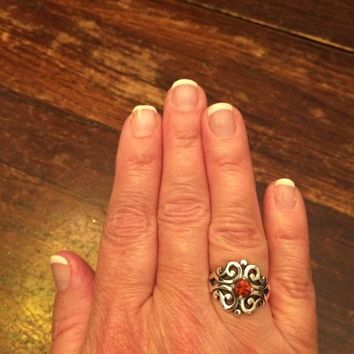 Spanish Lace Ring with Amethyst | James Avery