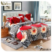 3D Bedding Set Flower Printed Bedding 3D Bed Linens Bedspread Bedclothes Duvet Cover Set 4pcs Quilt Cover Set