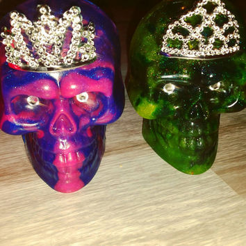 Queen of the damned Soap! Bling eyes and Reusable Tiara! Strawberry, Orange and Sweet Rock Candy! Rock star Moisture! Whiskey Mermaid