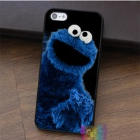 Elmo Smiley Face Cookie Monster fashion  phone case for iphone 4 4s 5 5s 5c SE 6 6s 6 plus 6s plus 7 7 plus #LI0922