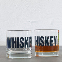 The Little Apple — Whiskey & Bourbon Rocks Glasses