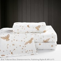 HARRY POTTER™ Enchanted Night Sky Sheet Set