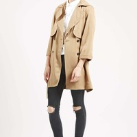 '70s Belted Duster Coat - Topshop