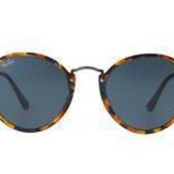 LMFON Tagre? NEW SUNGLASSES RAY-BAN ICONS ROUND 49 RB2447 in Blue