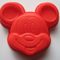 15*11.5cm Mickey Mouse Silicone Cake Baking Mold Cake Pan Handmade Soap Moulds Biscuit Chocolate Ice Cube Tray DIY Mold