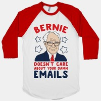 Bernie Doesn't Care about Your Damn Emails