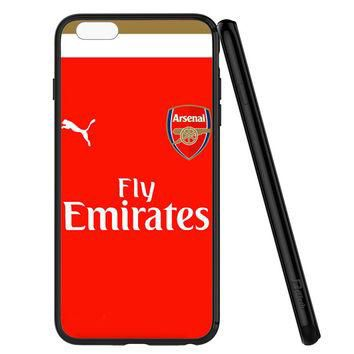 Arsenal Jersey Red Soccer iPhone 6   6S Case Planetscase.com