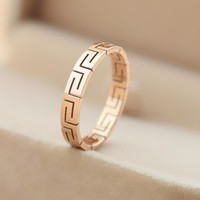 unique rose gold ring best gift-114