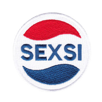 Cool SEXSI Sexy Patch 8cm Iron On