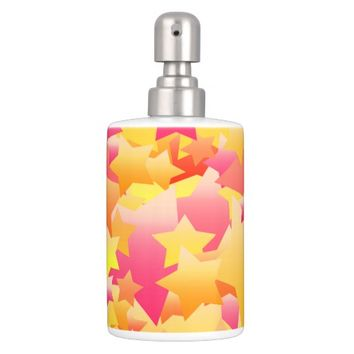 Bubble Stars Sherbet Soap Dispenser & Toothbrush Holder