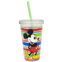 Disney Mickey Mouse Tumbler with Straw - Summer Fun - Multicolor | Disney Store