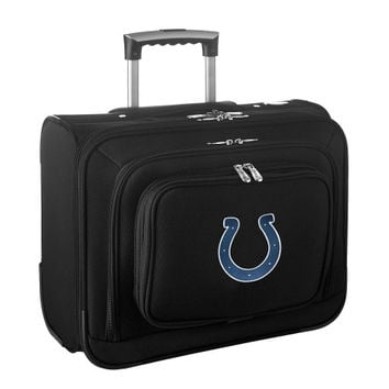 Indianapolis Colts Carry-On Rolling Laptop Bag - Black - http://www.shareasale.com/m-pr.cfm?merchantID=7124&userID=1042934&productID=540324088 / Indianapolis Colts