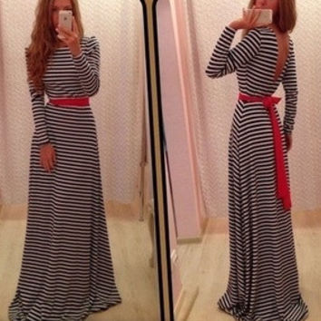 2015 autumn fashion sexy corset dress Ms. Slim was thin long-sleeved dress = 1753786692