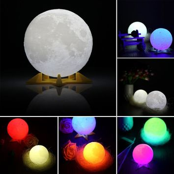 Moon Lamp, Home Decoration Full Moon Print For Home, Party, Shopping Mall, Restaurants