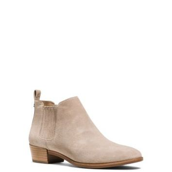 Shaw Suede Ankle Boot   Michael Kors