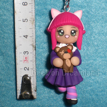 Annie with Tibbers League of Legends Necklace