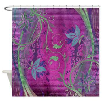 Vintage Floral Shower Curtain> Floral> Tropical Design Studio