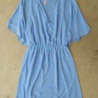 Swept in Periwinkle Dress [3802] - $36.00 : Vintage Inspired Clothing & Affordable Summer Frocks, deloom | Modern. Vintage. Crafted.