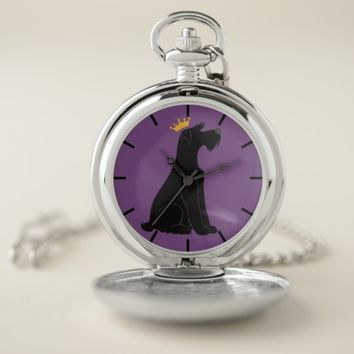 Schnauzer Prince Pocket Watch