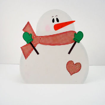 Christmas gift card holder, snowman gift card holder, holiday gift card holder, handmade snowman card, Christmas in July