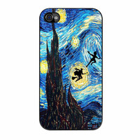 Peter Pan And Harry Potter Starry Night iPhone 4s Case