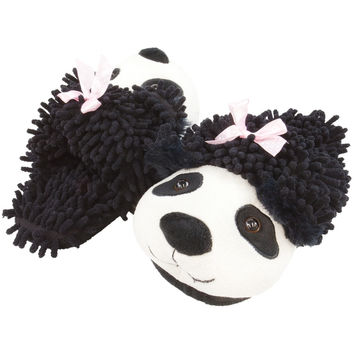Panda Fuzzy Friends Adult Slippers