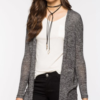 Long Sleeve Hacci Cardigan