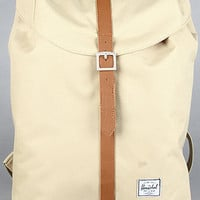HERSCHEL SUPPLY The Post Backpack in Khaki : Karmaloop.com - Global Concrete Culture