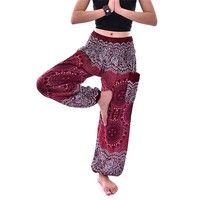 Boho Printed Thai Harem Pants - (15 Unisex Patterns)