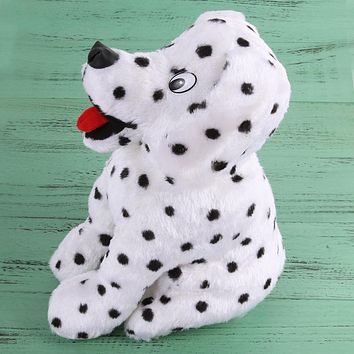Golf Club Head Covers Plush Spotted Dog Bar Headcover Rose Cartoon Fish Dog Protection Golf Cover