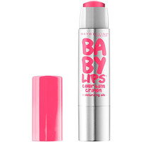 Maybelline New York Baby Lips Color Balm Crayon, Strawberry Pop, 0.09 Ounce