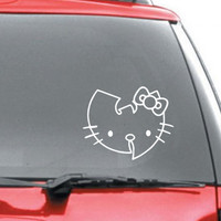 Wutang Clan Hello Kitty vinyl decal